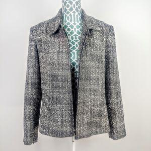 Worthington women's zip up wool coat